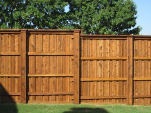 Wood Privacy Fence Bryan TX