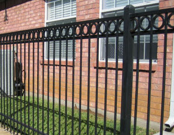 wrought iron fencing bryan college station tx