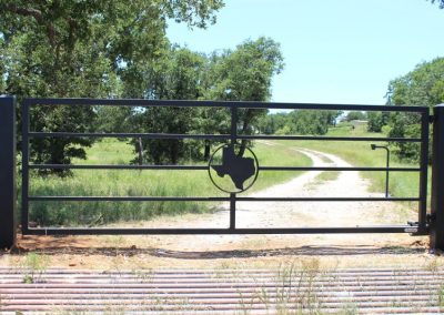 Automatic Ranch Gate Bryan College Station TX