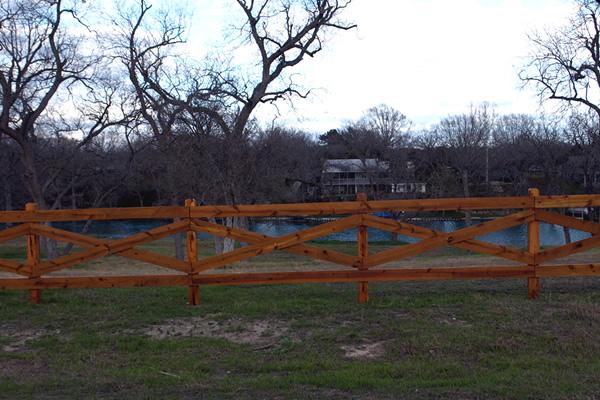 Horse Rail Fence Bryan College Station TX